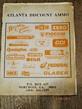 Atlanta Discount Ammo Catalog- no date b16