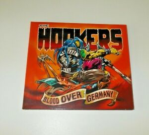 The Hookers Blood Over Germany CD VGC Digipak