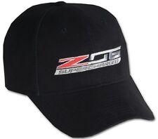 C7 Z06 Corvette Supercharged Black Cotton Hat
