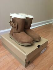 Genuine Girl's UGG Australia Daelynn Boots, Chestnut, Size 4, New in Box