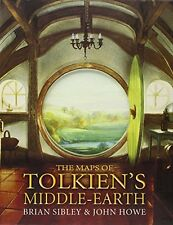 The Maps of Tolkien's Middle-earth: Special Edition New Hardcover Book Brian Sib