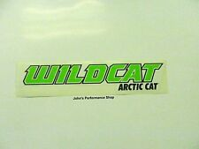 "OEM Arctic Cat Green 12"" Wildcat Decal 5239-745"