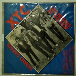 XTC Life Begins At The Hop 7' Single 1979 Mint Unplayed