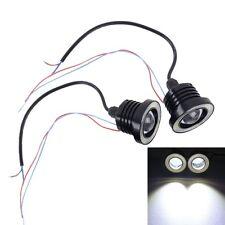2 PCS 2.5 inch DC12-24V 10W 900LM 6500K Car Angel Eyes Fog Lamp Foglight, Cable