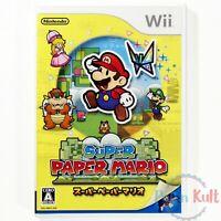 Jeu Super Paper Mario [JAP] sur Nintendo Wii NEUF sous Blister