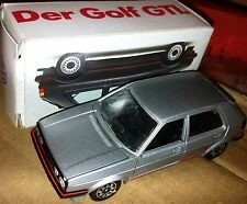 ULTRA RARE VINTAGE 1980s SCHABAK VW MK2 GOLF GTI SILVER LAUNCH PROMO MINT BOXED