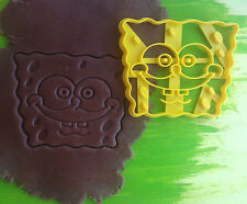 Сookie cutter Sponge bob cookiecutter cookies custom shape