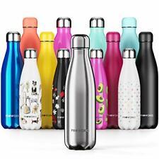 Proworks Bouteille d'eau Isotherme sans BPA Gourde INOX Reutilisable New