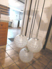 Lampe Kaskadenlampe Design Kugel Eisglas Doria 4170/ vintage 1970er Space Panton