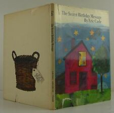 ERIC CARLE The Secret Birthday Message INSCRIBED FIRST EDITION