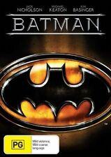 Batman - SINGLE DISC EDITION- DVD LIKE NEW FREE POST AUS REGION 4 MICHAEL KEATON
