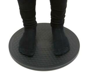 Drive Stand on Rotating Swivel Transfer Turntable Board for Moving Patients