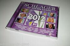 SCHLAGER SAISON 2012 FOLGE 1 /2 CD'S MIT HELENE FISCHER ANDREAS GABALIER DJ ÖTZI
