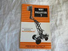 American Road Equipment Pallet Carrier Lift Construction Equipment Brochure