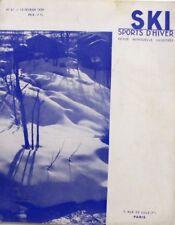 Ski Sports d'Hiver n°61 - 1939 -  Superbagnères - Davos - Barcelonnette Le Sauze