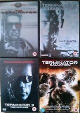 TERMINATOR QUADRILOGY ANTHOLOGY 1 2 3 4 Cameron*Schwarzenegger Sci-Fi 6 DVD Set