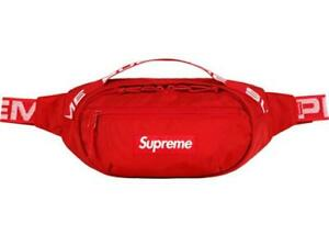 Supreme Red SS18 Shoulder/Fanny Bag/Pack.  FAST Free Shipping!