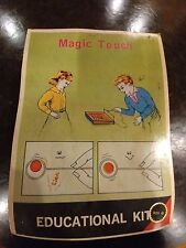 Magic touch educational kit