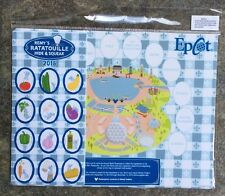 Disney Epcot Food and Wine Festival 2016 Remy's Hide and Squeak Pin set Map Only