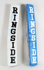 Joe Frazier & Leon Spinks Signed Boxing Ring Corner Pads – COA JSA