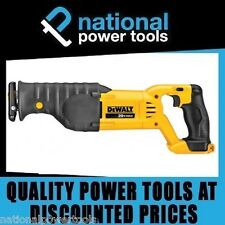 BRAND NEW DEWALT RECIPROCATING SAW DCS380 18V / 20V LITHIUM ION SUITS SLIDE BATT
