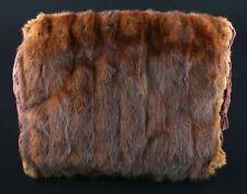 Vintage Talon Mink Fur Hand Muffler with Purse
