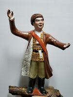 "Rare Chinese Cultural Revolution Porcelain Statue 17""H"