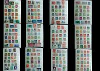 Stamp Collection From Sweden Denmark Finland Norway Iceland & France, Free Post