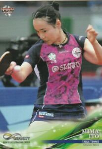 "MIMA ITO ""TABLE TENNIS"" Tokyo Olympics 20 participation  athlete card"