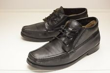 Bally US 10 EEE Black Ankle Boots Men's