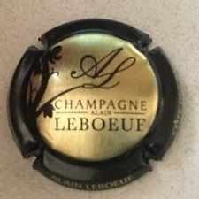 Capsule de Champagne LEBOEUF Alain (9a. or contour noir)