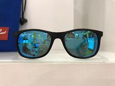 Ray-ban Junior Occhiali da sole 9062 701355 Nero Blu Specchio