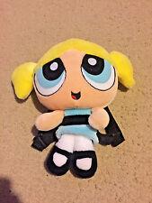 Cartoon Network The Powerpuff Girls Bubbles 2001 Plush Doll Kids Backpack