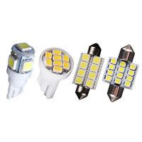 T10&31mm Festoon Map Dome License Plate Kit White LED Light Interior Lamp 14Pcs