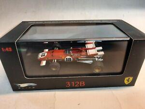 Hot Wheels Elite Ferrari 312B 312 B #18 J. Ickx winner Canada GP 1970 1/43 N5588
