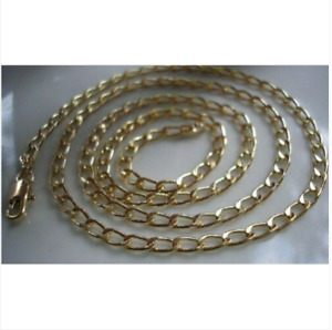 9ct Gold gf Curb Chain HIGHEST QUALITY BUY WITH CONFIDENCE (4)