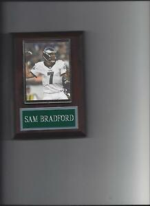 SAM BRADFORD PLAQUE PHILADELPHIA EAGLES FOOTBALL NFL
