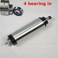 FOUR BEARING 1.5KW ER11 65MM WATER-COOLED SPINDLE MOTOR ENGRAVING MILL GRIND CNC