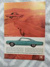 1967 Buick LeSabre Hardtops USA Original Magazine Advertisement