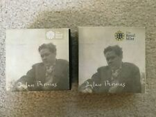 2014 Alderney Dylan Thomas Gold & Silver Proof Coins - Royal Mint