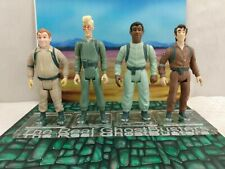 1986 Kenner Ghostbusters Acrylic Display. 4 bases & Frame.        No figures.
