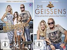 4 DVDs * DIE GEISSENS - STAFFEL 7 ( 7.1 + 7.2 )  IM SET # NEU OVP !