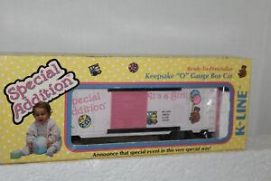 K-line #K-6427 IT'S A GIRL BOXCAR