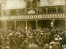 France Hospices de Beaune Wine Auction Crowd Hôtel-Dieu Old Photo 1937