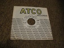 The Bee Gees/ (The Lights Went Out In) Massachusetts/ Atco/ 1967/ Promo WLP