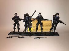 GI Joe 25th Cobra Night Watch Troopers Infantry lot of 4 loose 2008 battle pack