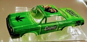 T-Jet Style Auto world CHEVY Impala Cheech & Chong Up In Smoke new body only