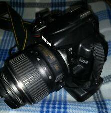 Nikon D5000 12.3MP Digital DSLR Camera w/Grip & 18-55mm VR &75-300mm Lenses+More