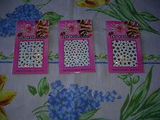 lot trois stickers ongles brillants Marque EASY PARIS COSMETICS Femme neuf
