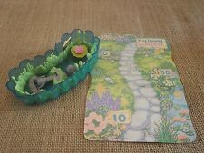 Vintage Littlest Pet Shop Jump N Splash Frog Lilypad Pond Mat Playset